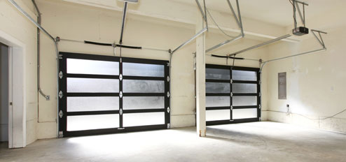 Brooklyn install glass garage door