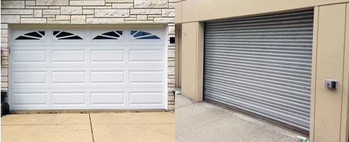 Overhead Door Or Roll Up Gate?