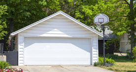 Detached Garage Door
